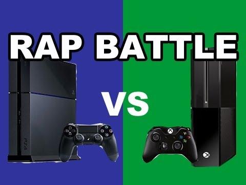 Rap Battle | Xbox One vs Playstation 4
