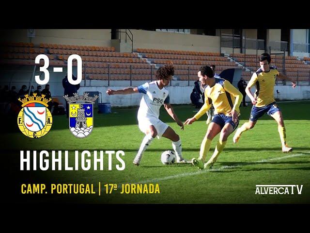 FC Alverca 3-0 Sintrense Highlights