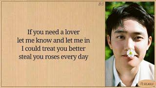 D.O. (디오) Rose (English Version) Lyrics