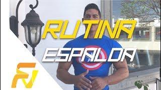 RUTINA DE ESPALDA EN CIRCUITOS! Con Fernando Valdez