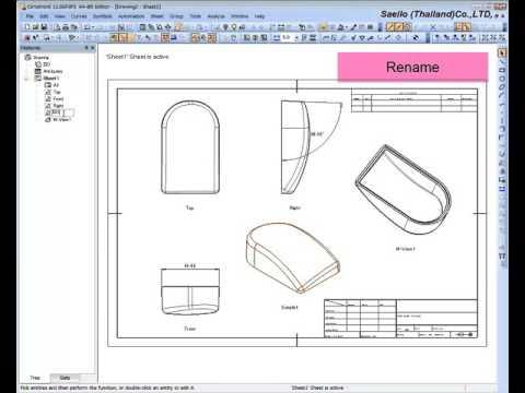 Cimatron Tutorial Step3 Drafting