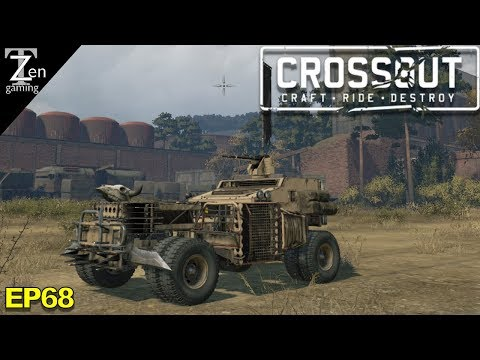 CROSSOUT SCARP METAL MONEY EP68 - Crossout Gameplay