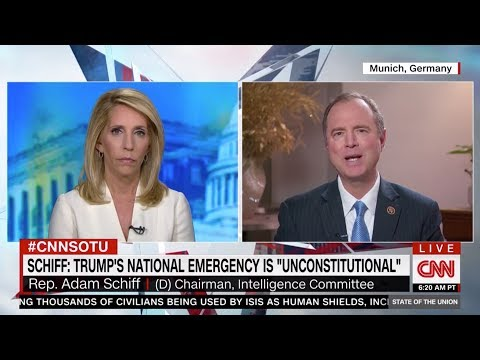 Rep. Schiff on CNN: Congress Must Stand Up to Trump's Unconstitutional Emergency Declaration
