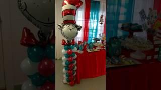 Dr Seuss Kids Birthday Party