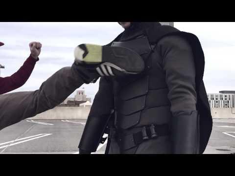 Real Life Batsuit: Combat Armor