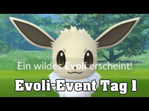 Evoli Community Day (Tag 1) Shiny-Ausbeute und Erfahrungsbericht (Pokemon Go, deutsch)