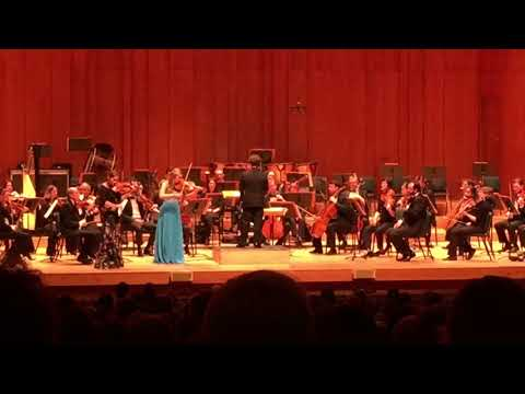 Erika Hubbard playing Arnold Double Violin Concerto