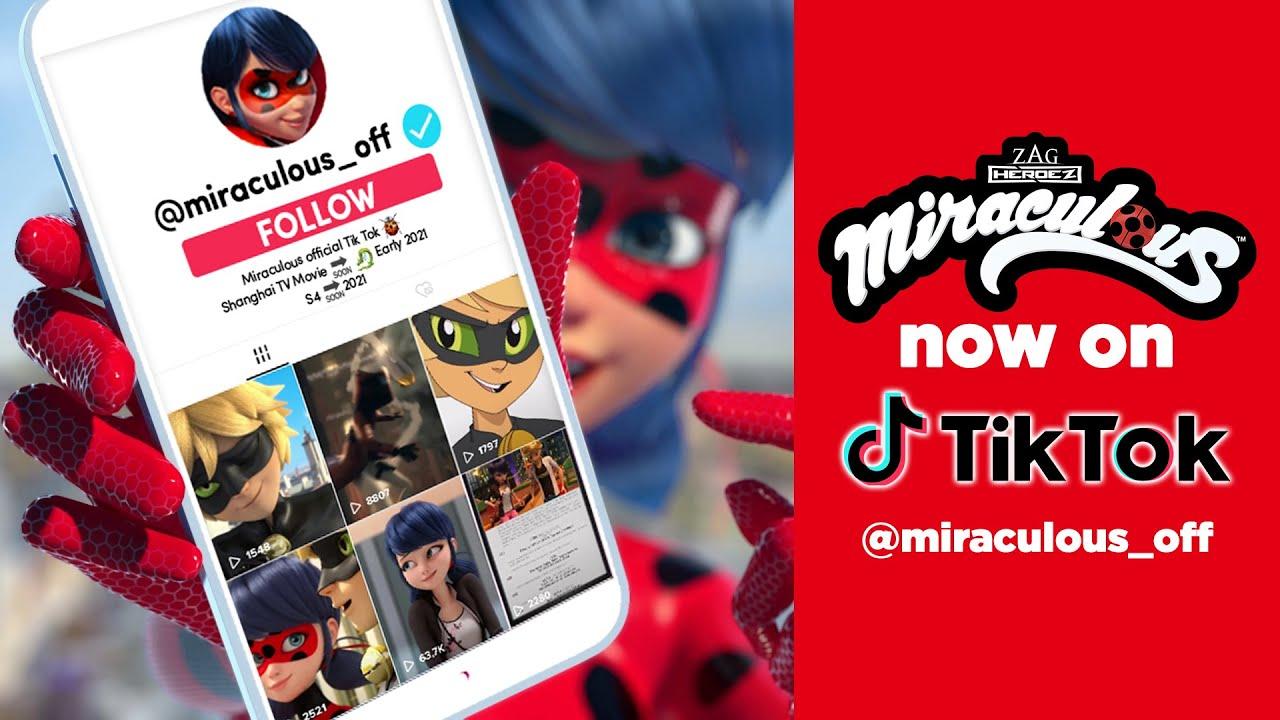 MIRACULOUS | 📲  NOW ON TIK TOK 🐞 | Tales of Ladybug and Cat Noir