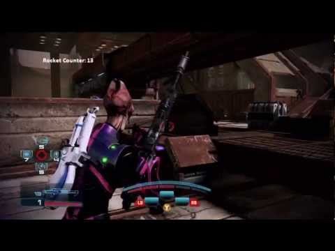 Mass Effect 3 ME3 - Father of the Year Award - Give This Man Rockets! - Gold Infiltrator Sniping