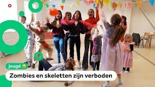 Kinderen vieren Happyween in plaats van Halloween