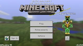Minecraft PE 0.15.0 | MCPE 0.15.0 ALPHA BULID 1 APK RELEASED!! + GAMEPLAY!! (Pocket Edition)