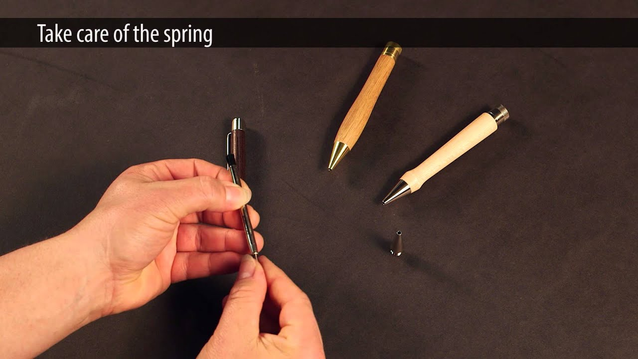 How To Change A Pen Refill Youtube