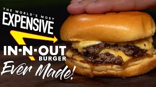 Can WAGYU Make In-N-Out Burger BETTER? | Guga Foods