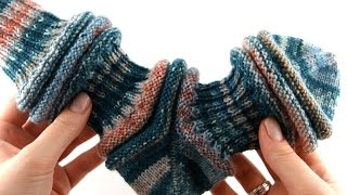 How to Knit on 9 inch Circular #1 Cuff