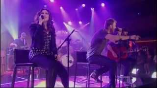 Lady Antebellum - Just A Kiss[live]