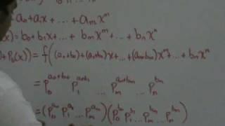 """""""Isomorfismo entre los polinomios de coef. enteros y los racionales positivos"""""""