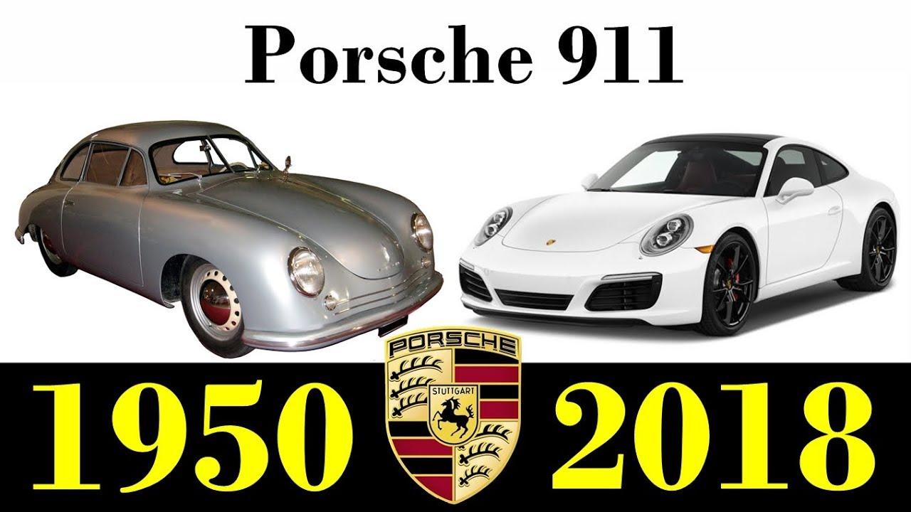 Porsche 1950 - 2018