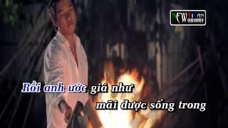 Karaoke HD   Giật mình trong đêm   Tuấn Hưng Full Beat Gốc