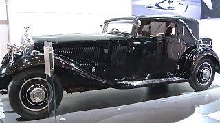 Rolls-Royce Phantom II Continental FHC 1929 - 1936 Techno Classica Essen Promo CARJAM TV HD 2015