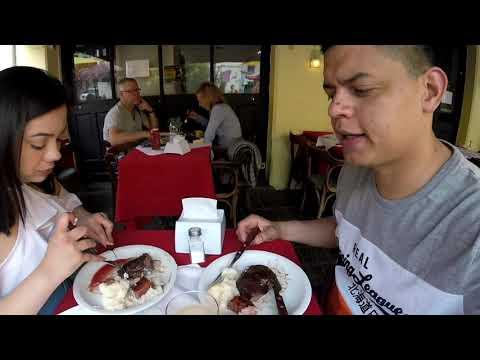 Como é comer no Mercado do Porto em Montevideu