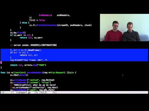 Hacking with Andrew and Brad: an HTTP/2 client