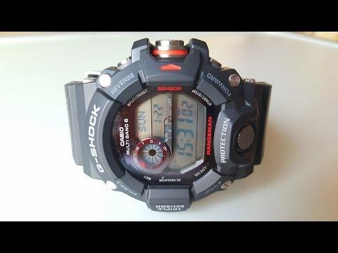 Выносливые и функциональные. CASIO G-SHOCK GW-9400-1E RANGEMAN