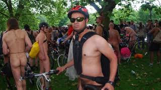 Londons Naked Cycle Ride 2016.. Full Body Nude Warning. Part 1 Chris Summerfield Photography