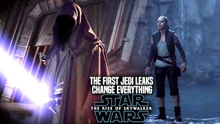 The Rise Of Skywalker! The First Jedi Leaks Change Everything! (Star Wars Episode 9)