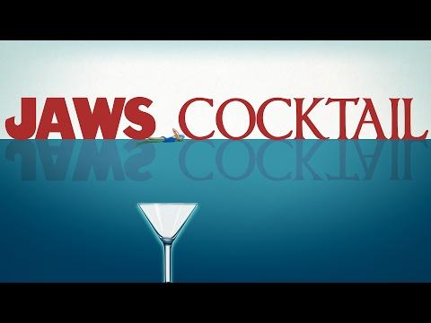 Jaws Shark Bite Cocktail - Spooky Spirits