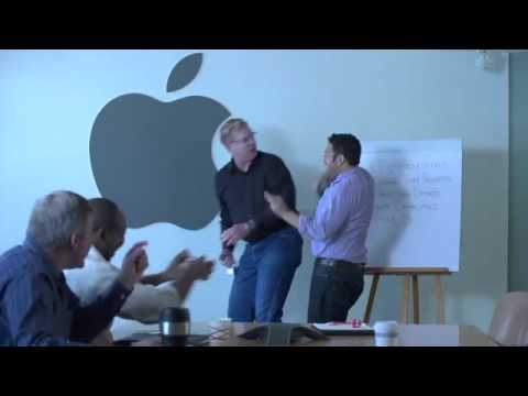 Tim Cook's First Day On The Job (with Christopher McDonald)