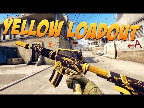CS:GO - The Yellow Loadout