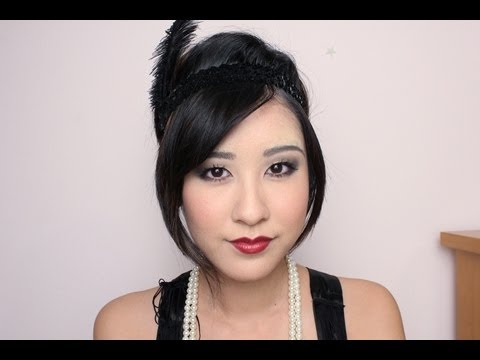 flapper 1920s inspired makeup youtube