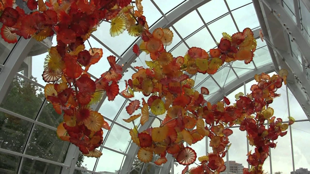 Chihuli Garden and Glass Exhibit - Seattle Center - YouTube