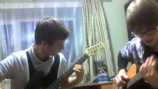 Уроки игры на гитаре: Deep Purple - Smoke on the water