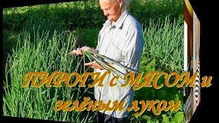 Блинчики фаршированные мясом и зелёным луком. Видео рецепты от Борисовны.