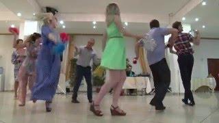 Веселые гости на свадьбе Анны и Павла 8.08.15. г. Коломна.