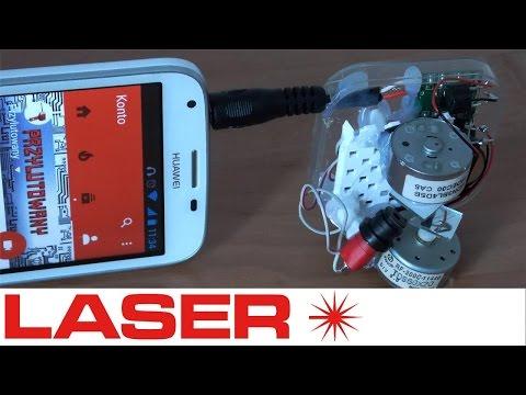 Jak zrobić projektor laserowy - mini oświetlenie laserowe do telefonu