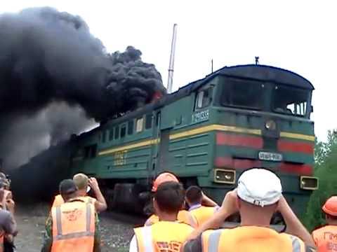 Αποτέλεσμα εικόνας για Russian train black smoke