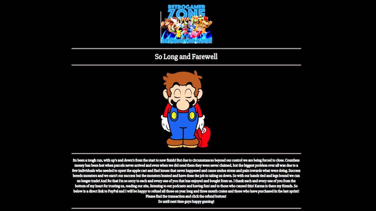 Zamkni To Retro Gamer Zone Koniec Retro Gamer Crate