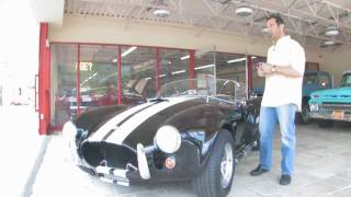 1965 Shelby Cobra 427  for sale with test drive, driving sounds, and walk through video