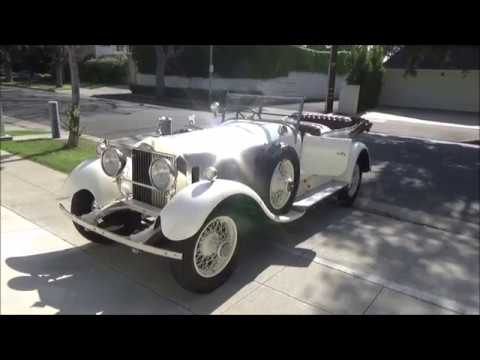 A Tour Of Beverly Hills In A 1927 Rolls-Royce