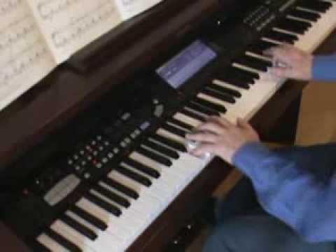 Bluesette Technics Piano   Peter Hayward