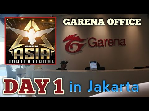 Free Fire Asia Invitational 2019 VLog | Day 1 India to Jakar