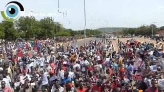 Mali :  Une manifestation gigantesque des opposants à la révision constitutionnelle vidéo