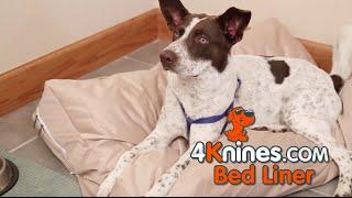 Dog Bed Slip Cover, Long-Last