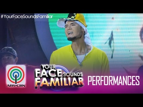 Your Face Sounds Familiar: Jay R as Billy Crawford -