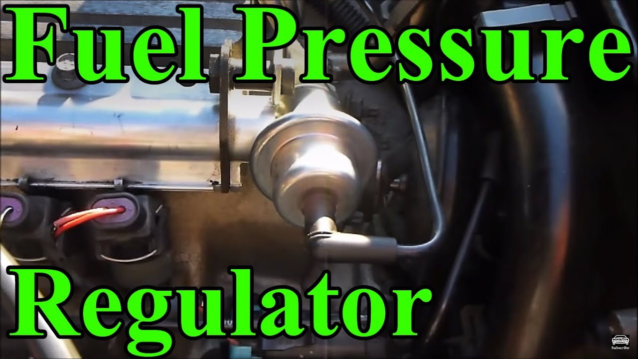 How to replace a Fuel Pressure Regulator  YouTube