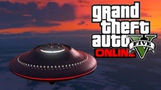 GTA 5 Glitches - Get The Alien Spaceship UFO In GTA 5 Online - GTA 5 UFO Glitch ! (GTA 5 Glitches)
