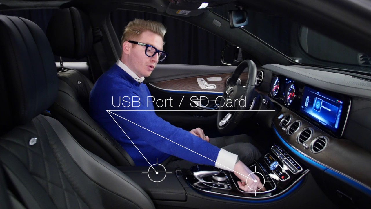 Lights Out Interior Experience 2017 Mercedes Benz E