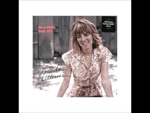 Lucinda Williams KUT FM, Austin, TX 10 04 81